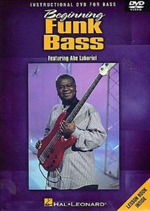 Rent Abe Laboriel: Beginning Funk Bass: Instructional DVD for Guitar Online DVD Rental
