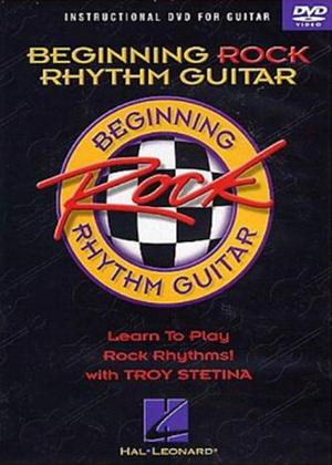 Rent Troy Stetina: Beginning Rock Rhythm Guitar: Instructional DVD for Guitar Online DVD Rental