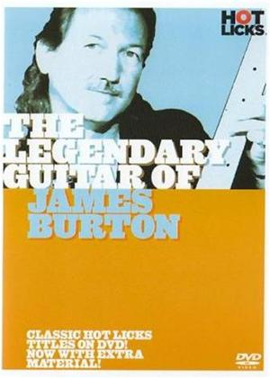 Hot Licks: The Legendary Guitar of James Burton Online DVD Rental