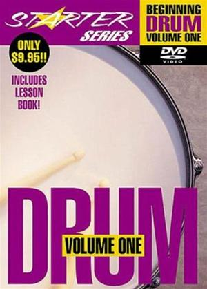 Rent Starter Series: Beginning Drum: Vol.1 Online DVD Rental