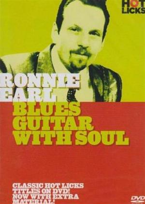 Rent Hot Licks: Ronnie Earl: Blue Guitar with Soul Online DVD Rental