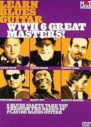 Hot Licks: Learn Blues Guitar with 6 Great Masters Online DVD Rental
