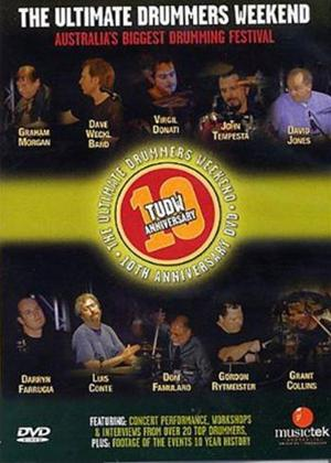 Rent The Ultimate Drummers Weekend: 10th Anniversary Online DVD Rental