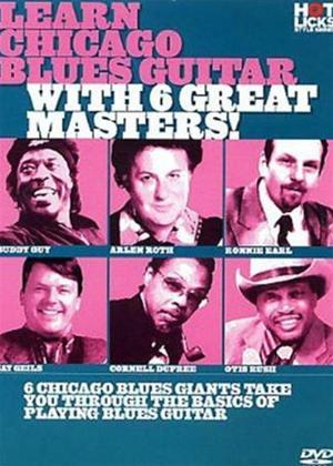 Hot Licks: Learn Chicago Blues Guitar with 6 Great Masters Online DVD Rental