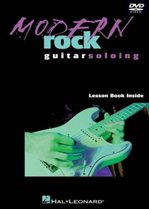 Rent Modern Rock Guitar Soloing Online DVD Rental
