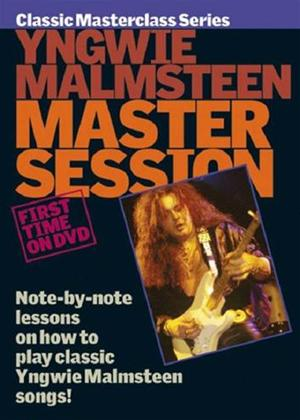 Rent Yngwie Malmsteen Master Session Online DVD Rental