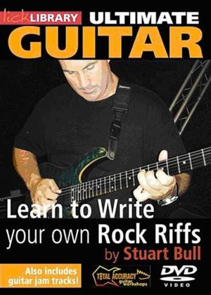 Rent Learn to Write Your Own Rock Riffs Online DVD Rental