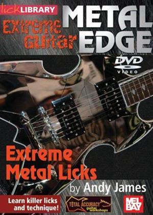 Metal Edge: Extreme Metal Licks Online DVD Rental