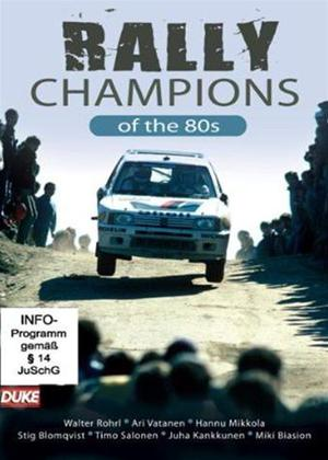 Rent Rally Champions of the 80s Online DVD Rental