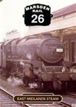 Rent Marsden Rail 26: East Midlands Steam Online DVD Rental