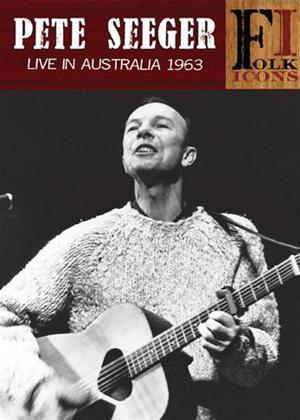 Pete Seeger: Live in Australia 1963 Online DVD Rental