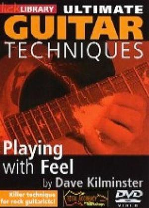 Rent Ultimate Guitar Techniques: Playing with Feel Online DVD Rental