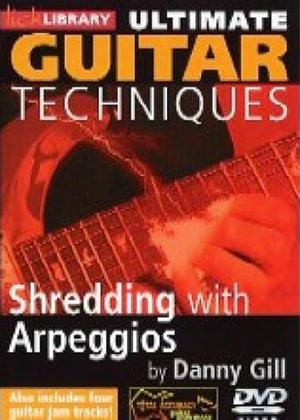 Rent Ultimate Guitar Techniques: Shredding with Arpeggios Online DVD Rental