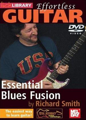 Rent Effortless Guitar: Blues Fusion Online DVD Rental