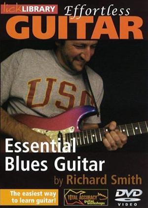 Effortless Guitar: Blues Guitar Online DVD Rental