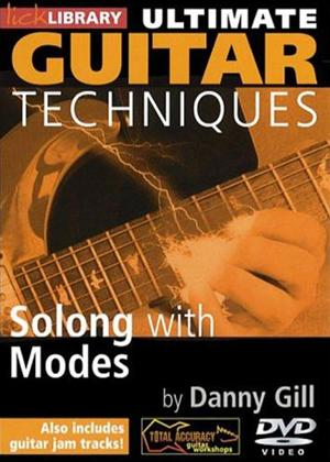 Rent Ultimate Guitar Techniques: Soloing with Modes Online DVD Rental