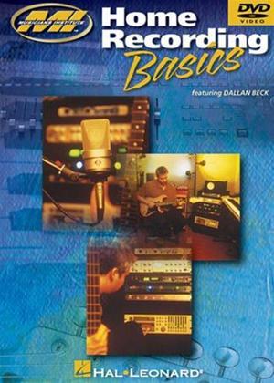 Rent Home Recording Basics Online DVD Rental