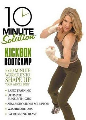 10 Minute Solution: Kickbox Bootcamp Online DVD Rental
