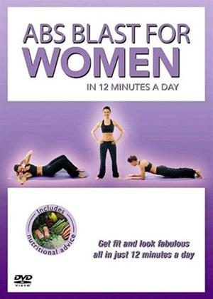 Abs Blast for Women: 12 Minutes a Day Online DVD Rental