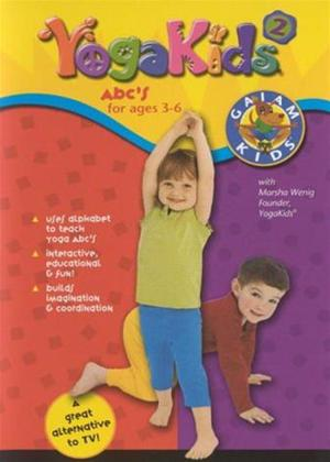 Rent Yoga Kids 2: ABC's for Ages 3-6 Online DVD Rental