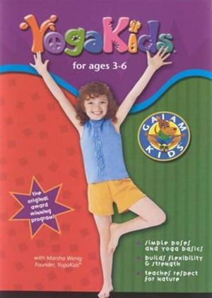 Rent Yoga Kids for Ages 3-6 Online DVD Rental