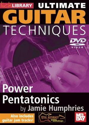 Rent Ultimate Guitar Techniques: Power Pentatonics Online DVD Rental