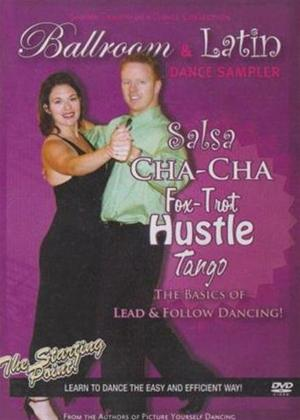 Ballroom and Latin Dance Sampler Online DVD Rental