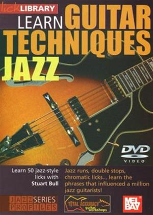 Rent Learn Guitar Techniques: Jazz Online DVD Rental