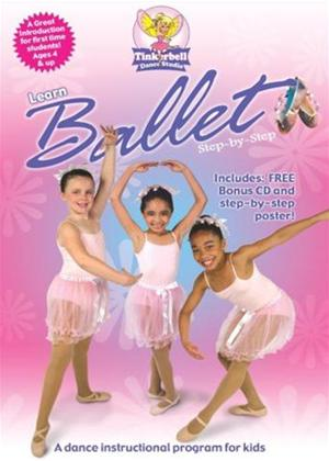 Rent Tinkerbell Dance Studio: Learn Ballet Step by Step Online DVD Rental
