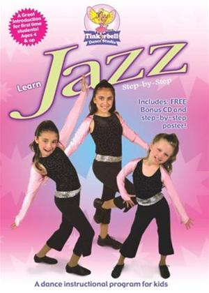 Rent Tinkerbell Dance Studio: Learn Jazz Step by Step Online DVD Rental