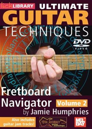 Rent Ultimate Guitar Techniques: Fretboard Navigator: Vol.2 Online DVD Rental