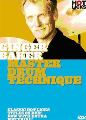 Rent Ginger Baker: Master Drum Technique Online DVD Rental