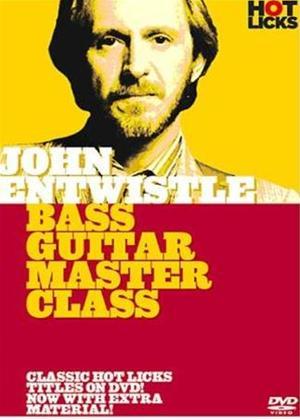 Rent John Entwistle: Bass guitar Master Class Online DVD Rental