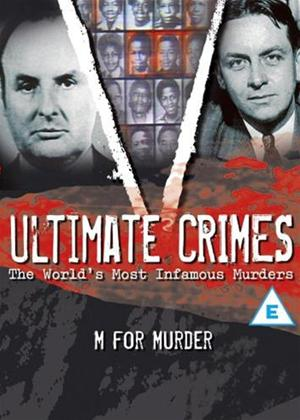 Ultimate Crimes: M for Murder Online DVD Rental