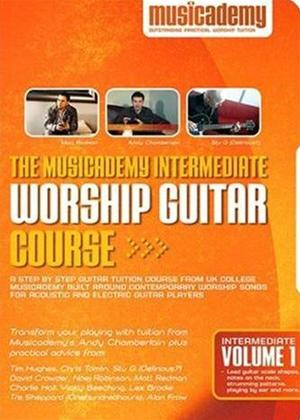 Rent Musicacademy: Intermediate Worship Guitar Course: Vol.1 Online DVD Rental