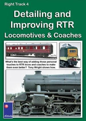 Rent Right Track 4: Detailing and Improving RTR Locomotives and Coaches Online DVD Rental