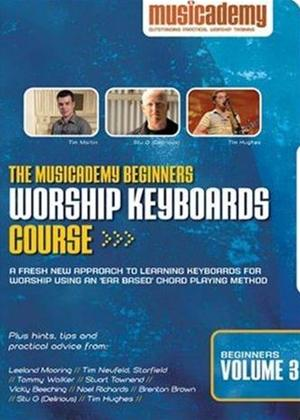 Musicacademy: Beginner's Worship Keyboard Course: Vol.3 Online DVD Rental
