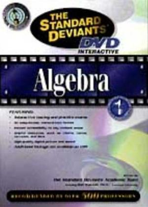 Rent The Standard Deviants: DVD Interactive: Algebra Online DVD Rental