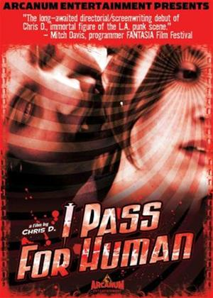 I Pass for Human Online DVD Rental