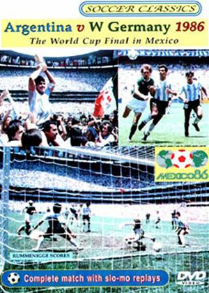 Argentina vs. West Germany 1986 World Cup Final Online DVD Rental