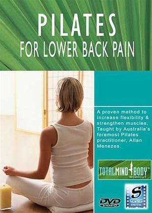 Pilates for Lower Back Pain Online DVD Rental