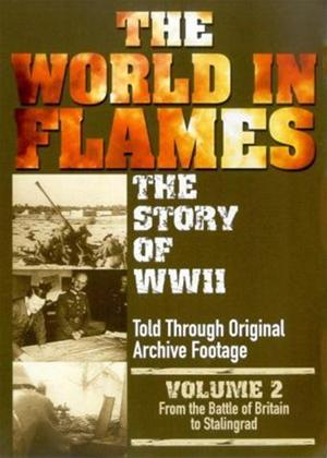 Rent The World in Flames: The Story of World War 2: Vol.2 Online DVD Rental