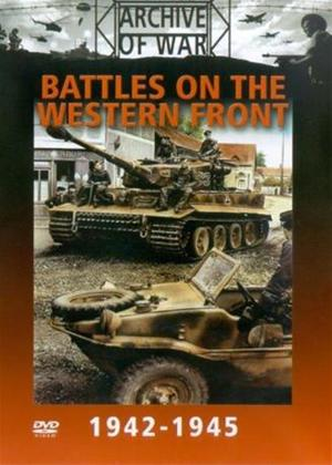Rent Battles on the Western Front 1942-1945 Online DVD Rental