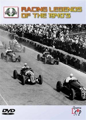 Rent Racing Legends of the 1940's Online DVD Rental