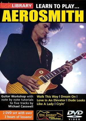 Learn to Play: Aerosmith Online DVD Rental