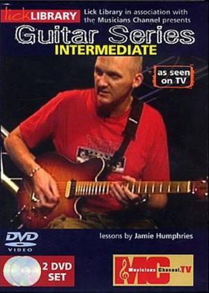 Rent Lick Library: Guitar Series: Intermediate Online DVD Rental