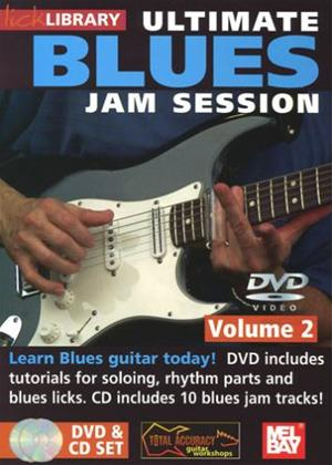Rent Lick Library: Ultimate Blues Jam Session: Vol.2 Online DVD Rental