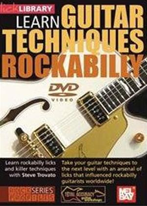 Rent Learn Guitar Techniques: Rockabilly Online DVD Rental
