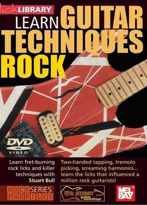Rent Lick Library: Learn Guitar Techniques: Rock Online DVD Rental