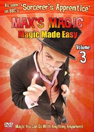 Rent Max's Magic: Magic Made Easy: Vol.3 Online DVD Rental